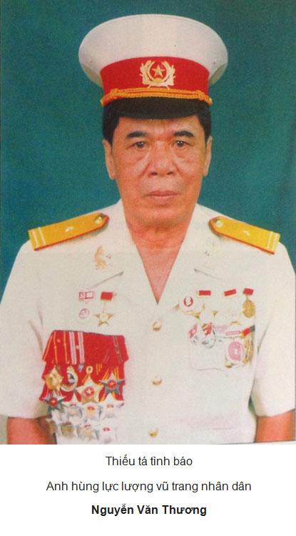 Anh Hùng Lực lượng Vũ Trang Nhân Dân Nguyễn Văn Thương