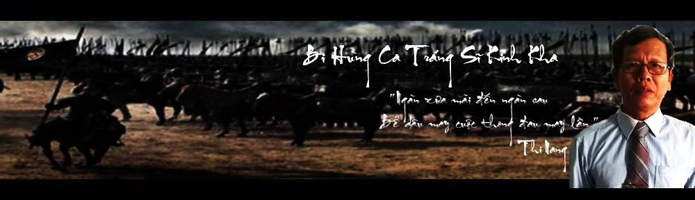 Bi Hùng Ca Tráng Sĩ Kinh Kha